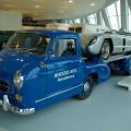 Mercedes-Benz Museum SLR 300 Rennabteilung