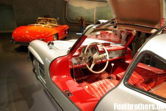 Mercedes Benz SL Flügeltürer und Cabriolet