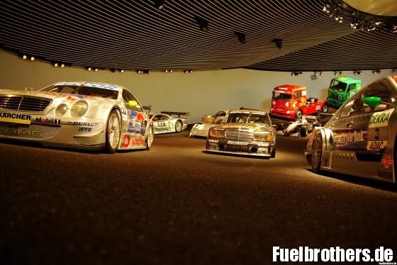 Mercedes-Benz Museum Ausstellung Rennerfolge