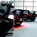 Lamborghini Countach line-up