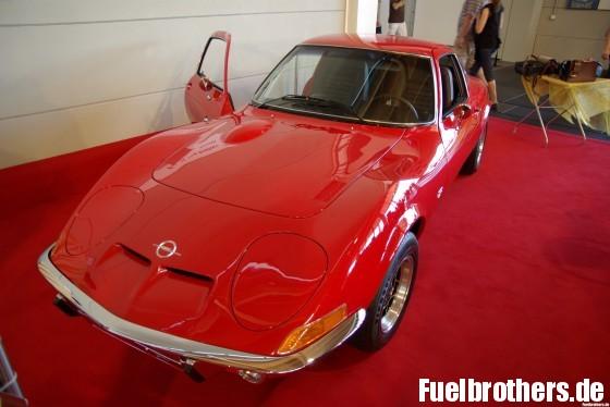 Klassischer Opel GT