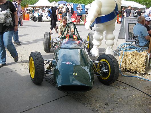 Schloss Dyck Lotus Rennwagen Racecar