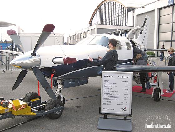 Aero Friedrichshafen Piper Meridian