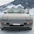 Porsche 944 S1 Schnee Snow Winter