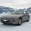 Porsche 944 S1 Schnee Snow Winter