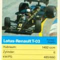 Quartett Lotus F1