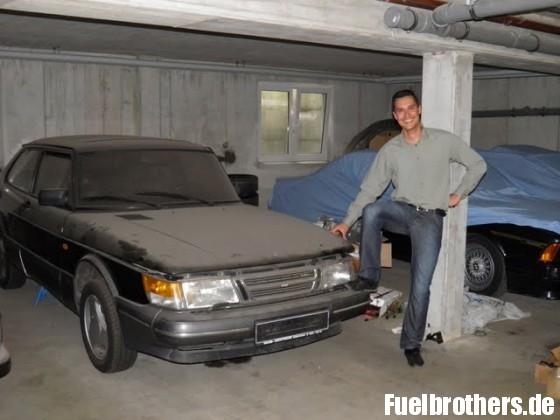 Garagenfund Saab 900 turbo 16