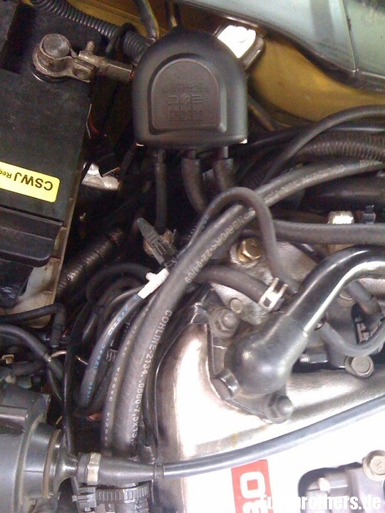 Nissan 300ZX TT Motorraum