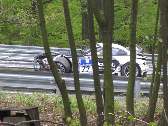 Nürburgring Nordschleife 24h BMW Z4 crash unfall