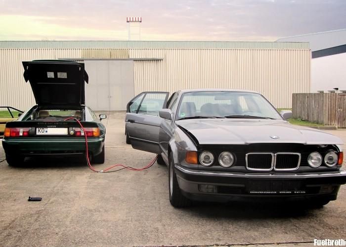 Winterschlaf mit Verspätung – BMW E32