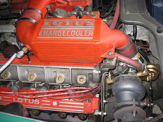 Lotus Esprit S4 Engine Motor Chargecooler