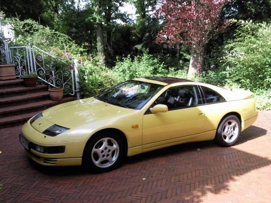 Nissan 300ZX TT gelb yellow