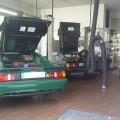 Lotus Esprit Werkstatt Ramspott Brandt