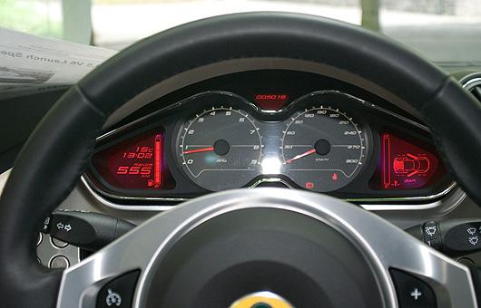 Lotus Evora Cockpit