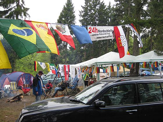 Nürburgring Nordschleife Fanlager 24h